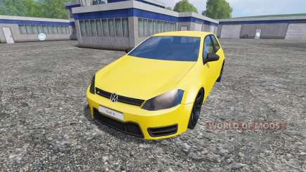 Volkswagen Golf VII v1.3 для Farming Simulator 2015