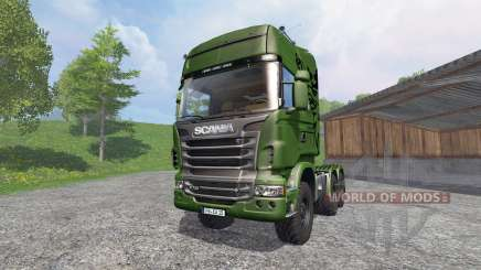 Scania R730 [euro farm] v1.2 для Farming Simulator 2015