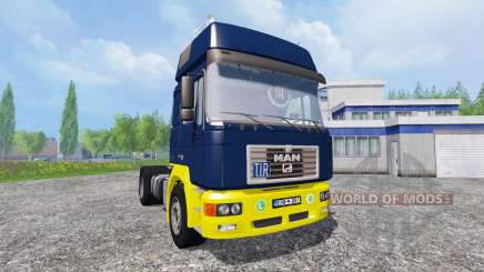 MAN F2000 19.414 [blue edition] для Farming Simulator 2015