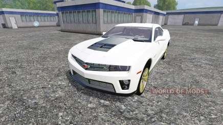 Chevrolet Camaro ZL1 для Farming Simulator 2015