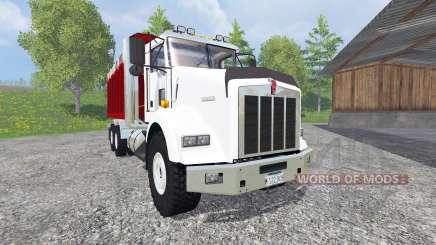 Kenworth T800 [dump] v2.0 для Farming Simulator 2015