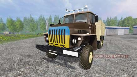 Урал-4320 [ГКБ-817] для Farming Simulator 2015