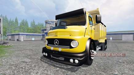 Mercedes-Benz 1513 [dump] для Farming Simulator 2015