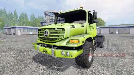 Mercedes-Benz Zetros 1833 для Farming Simulator 2015