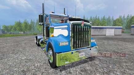 Kenworth W900L 2004 [day cab] для Farming Simulator 2015