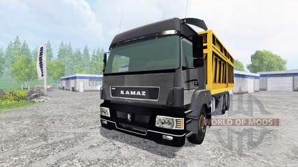 КамАЗ-5490 [самосвал] для Farming Simulator 2015
