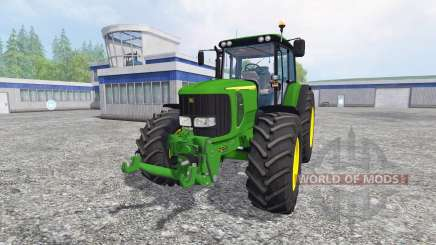 John Deere 6520 для Farming Simulator 2015