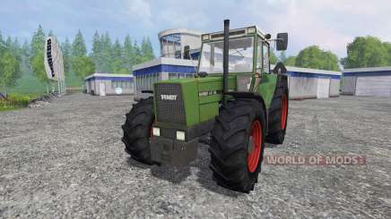 Fendt Favorit 611 FL [washable] для Farming Simulator 2015
