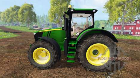 John Deere 7310R v3.5 для Farming Simulator 2015