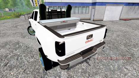 GMC Sierra 3500 2014 для Farming Simulator 2015