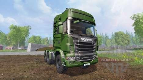 Scania R730 [euro farm] v1.5 для Farming Simulator 2015