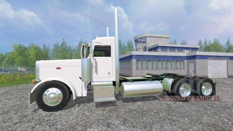 Peterbilt 379 2007 [daycab] v2.0 для Farming Simulator 2015