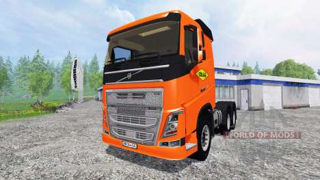 Volvo FH16 750 [COLAS] для Farming Simulator 2015
