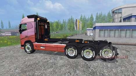 Volvo FH16 8x4 v3.0 для Farming Simulator 2015