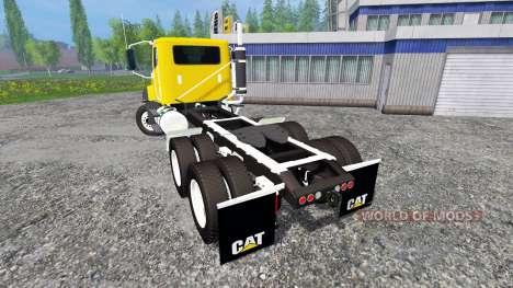 Caterpillar CT660 v1.0 для Farming Simulator 2015