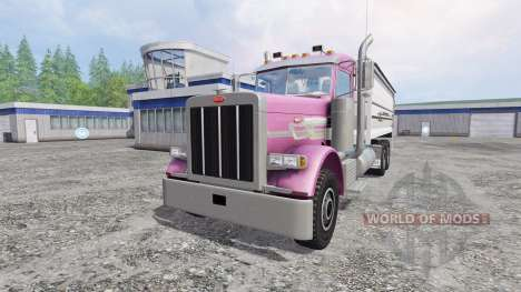 Peterbilt 379 [grain truck] для Farming Simulator 2015