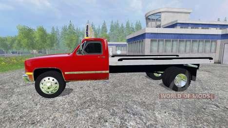 GMC 3500 1986 для Farming Simulator 2015