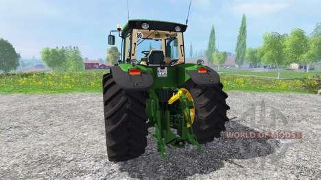 John Deere 8530 v1.3 для Farming Simulator 2015