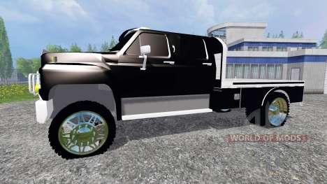 Ford F-650 [flatbed] для Farming Simulator 2015