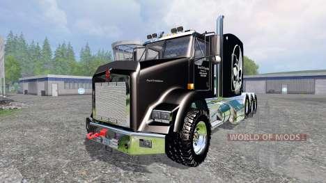 Kenworth T800 [TriAxle Sleeper] для Farming Simulator 2015