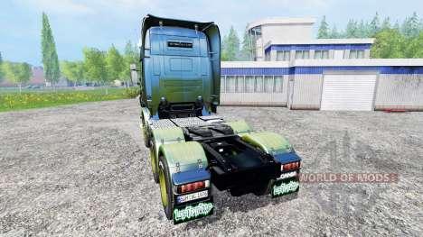 Scania R730 [alien] v2.1 для Farming Simulator 2015