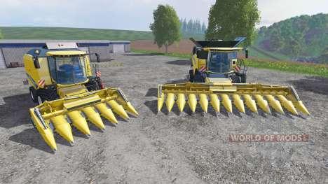 New Holland 980CF 6R and 980CF 12R для Farming Simulator 2015