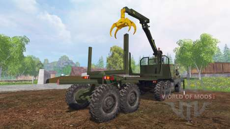 Урал-4320 [лесник] для Farming Simulator 2015