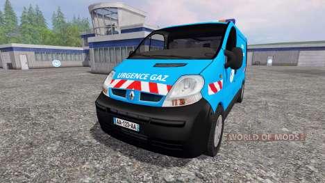 Renault Trafic [urgence gaz] для Farming Simulator 2015