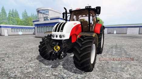 Steyr CVT 6230 v3.1 для Farming Simulator 2015