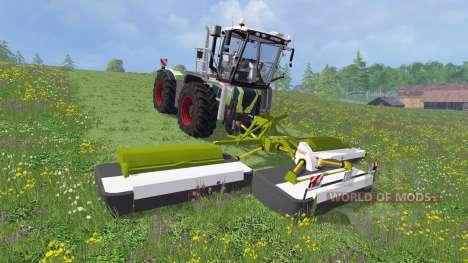 CLAAS Disco 9100 v2.0 для Farming Simulator 2015