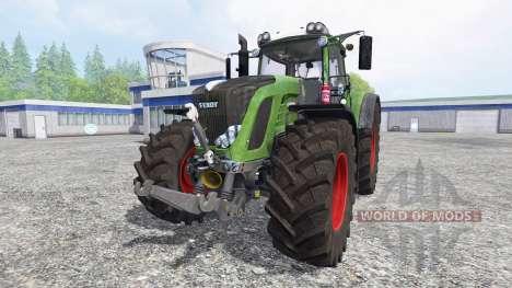 Fendt 927 Vario [washable][final] для Farming Simulator 2015