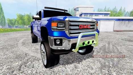 GMC Sierra 1500 2014 [lifted] для Farming Simulator 2015