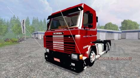 Scania 143 Frontal для Farming Simulator 2015