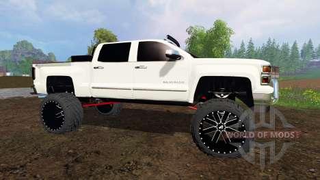 Chevrolet Silverado 2015 для Farming Simulator 2015
