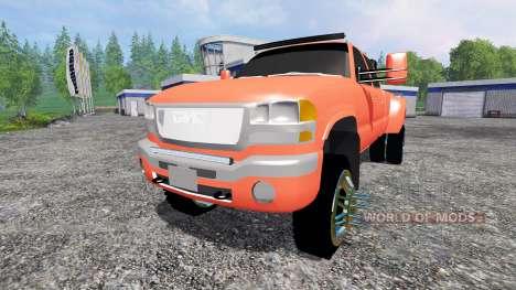 GMC Sierra 3500 [lifted] для Farming Simulator 2015