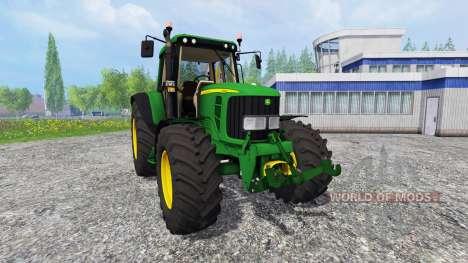 John Deere 6620 v2.0 для Farming Simulator 2015
