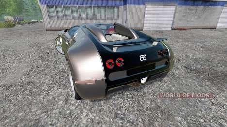 Bugatti Veyron v2.0 для Farming Simulator 2015