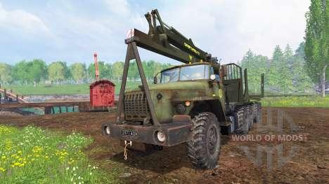Урал-4320 [лесник] v1.1 для Farming Simulator 2015
