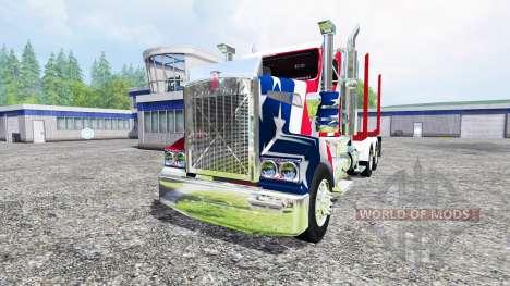 Kenworth T908 [USA] для Farming Simulator 2015