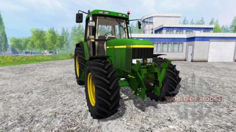 John Deere 6810 v2.0 для Farming Simulator 2015