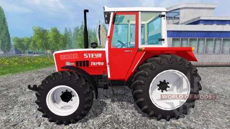 Steyr 8090A Turbo SK1 v1.0 для Farming Simulator 2015