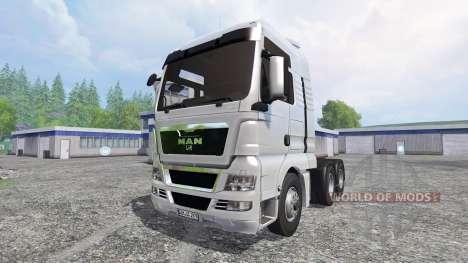 MAN TGX 18.680 для Farming Simulator 2015