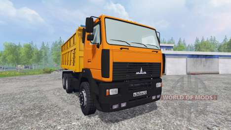 МАЗ-6501 [прицеп] для Farming Simulator 2015