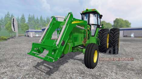 John Deere 4960 2WD FL для Farming Simulator 2015