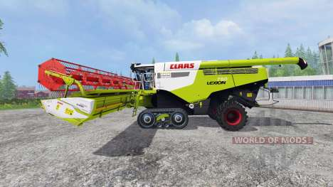 CLAAS Lexion 780TT [century edition] v2.0 для Farming Simulator 2015