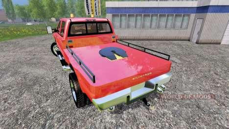 Chevrolet Silverado 3500 [flatbed] v3.0 для Farming Simulator 2015