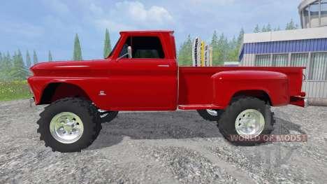Chevrolet C10 1966 для Farming Simulator 2015