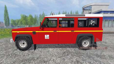 Land Rover Defender 110 для Farming Simulator 2015