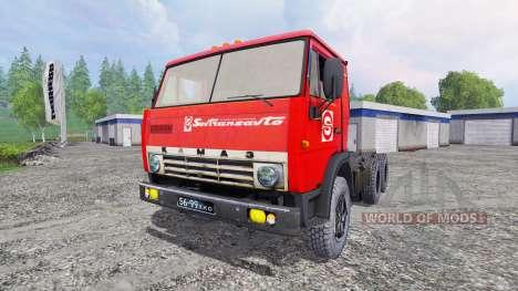 КамАЗ-5410 [СЗАП-9517] для Farming Simulator 2015