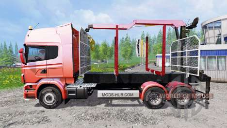 Scania R730 [forest] v1.2 для Farming Simulator 2015
